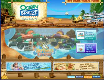Ocean Breeze Fun Park