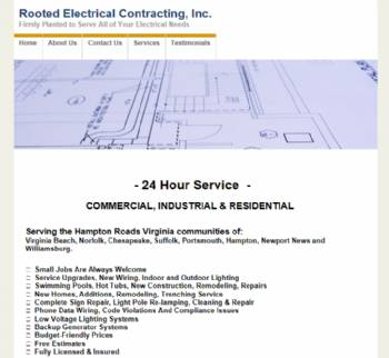 Rooted Electrical Contracting Inc.