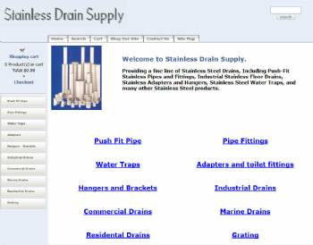 Stainless Drain Supply