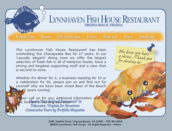 Lynnhaven Fish House on Lynnhaven Fish House   Restaurants By Hampton Roads Business
